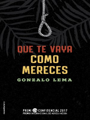 cover image of Que te vaya como mereces