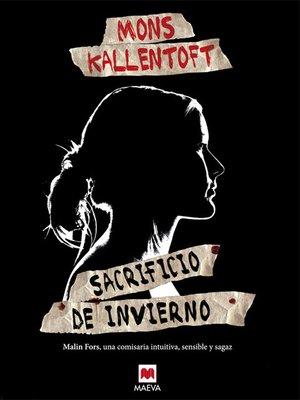 cover image of Sacrificio de invierno