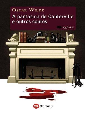 cover image of A pantasma de Canterville e outros contos