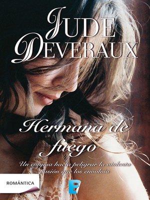 cover image of Hermana de fuego