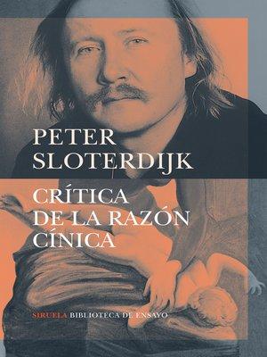 cover image of Crítica de la razón cínica