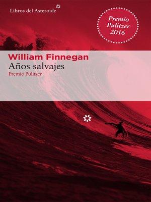cover image of Años salvajes