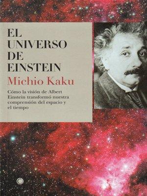 cover image of El universo de Einstein