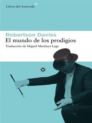 cover image of El mundo de los prodigios