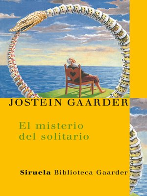 cover image of El misterio del solitario