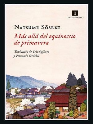 cover image of Más allá del equinoccio de primavera