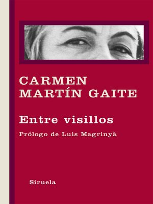 cover image of Entre visillos