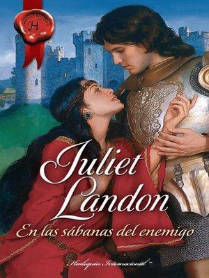 cover image of En las sábanas del enemigo