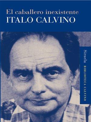 cover image of El caballero inexistente