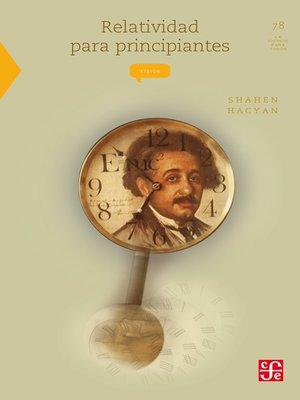 cover image of Relatividad para principiantes
