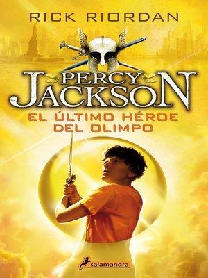 cover image of El último héroe del Olimpo