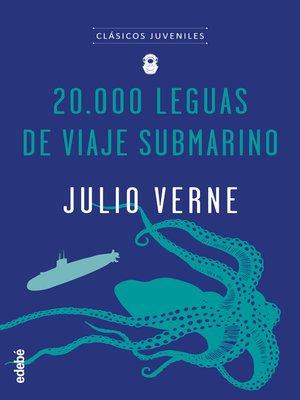 cover image of 20.000 leguas de viaje submarino