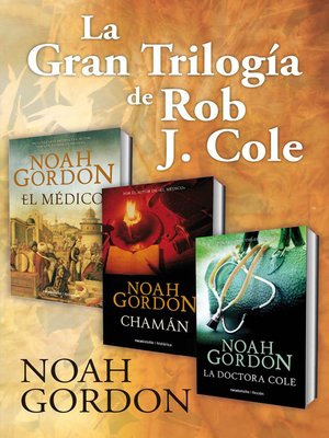 cover image of La gran trilogía de Rob J. Cole