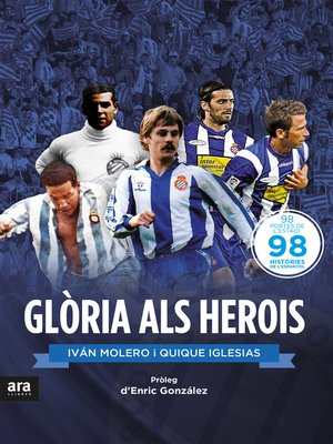 cover image of Glòria als herois