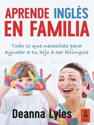 cover image of Aprende inglés en familia