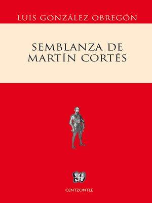 cover image of Semblanza de Martín Cortés