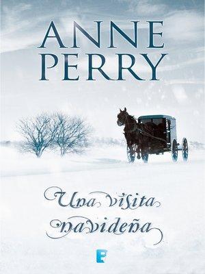 cover image of Una visita navideña (Historias navideñas 2)