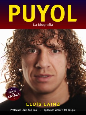 cover image of Puyol. La biografia