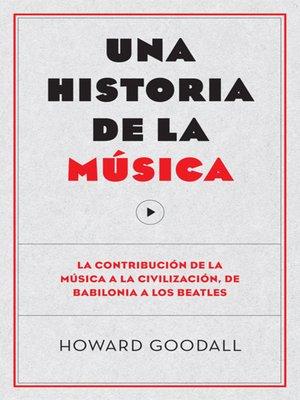 cover image of Una historia de la música