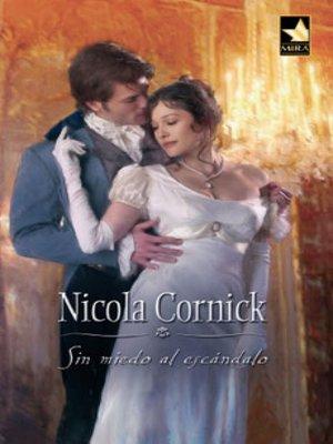 cover image of Sin miedo al escándalo