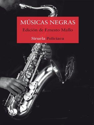cover image of Músicas negras