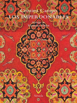 cover image of Los imperdonables