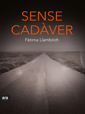 cover image of Sense cadàver