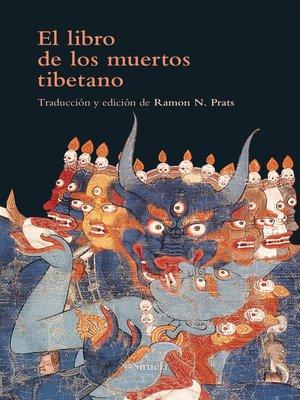 cover image of El libro de los muertos tibetano