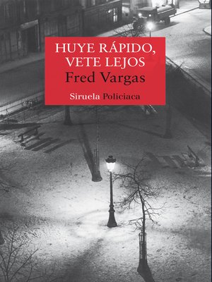 cover image of Huye rápido, vete lejos
