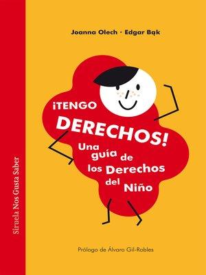 cover image of ¡Tengo derechos!