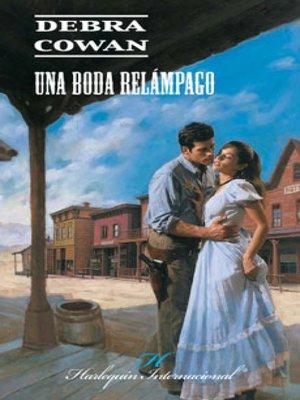 cover image of Una boda relámpago