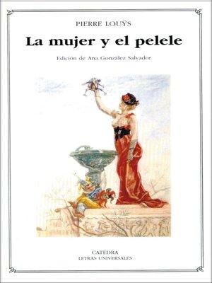 cover image of La mujer y el pelele