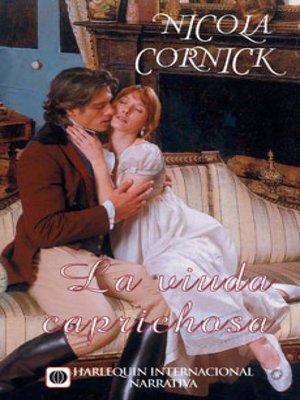 cover image of La viuda caprichosa