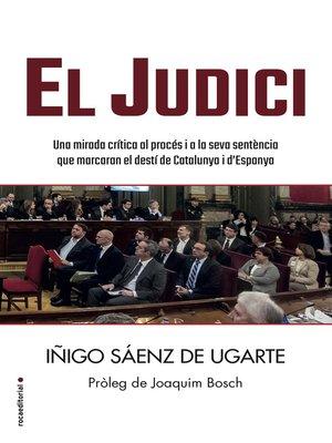 cover image of El judici