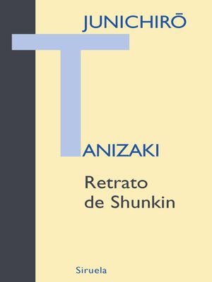 cover image of Retrato de Shunkin