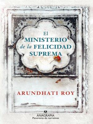 cover image of El ministerio de la felicidad suprema