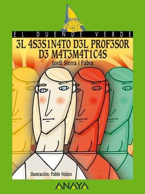 cover image of El asesinato del profesor de matemáticas