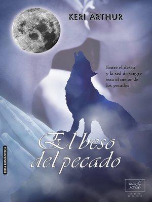 cover image of El beso del pecado