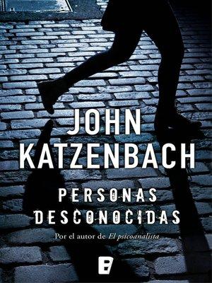 cover image of Personas desconocidas