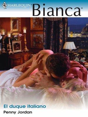 cover image of El duque italiano