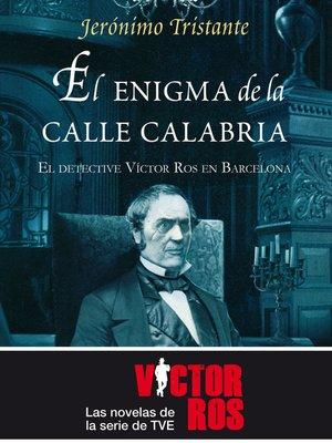 cover image of El enigma de la Calle Calabria