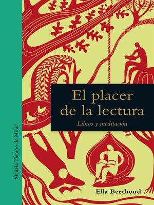 cover image of El placer de la lectura