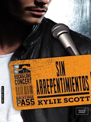 cover image of SIN ARREPENTIMIENTOS