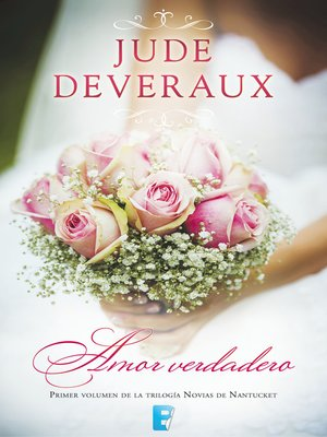 cover image of Amor verdadero (Trilogía Novias de Nantucket 1)