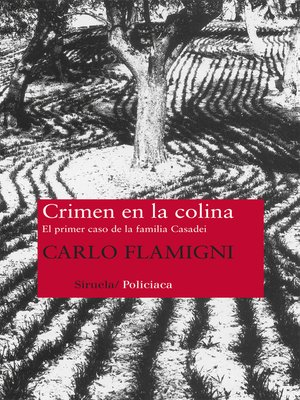 cover image of Crimen en la colina
