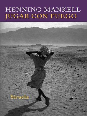 cover image of Jugar con fuego