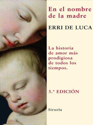 cover image of En el nombre de la madre