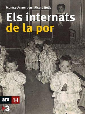 cover image of Els internats de la por