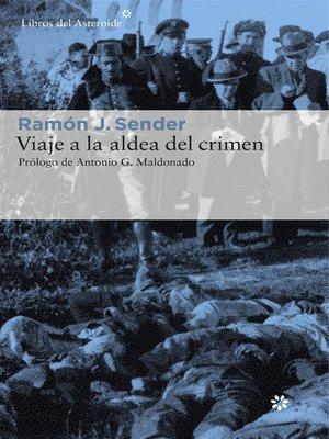 cover image of Viaje a la aldea del crimen