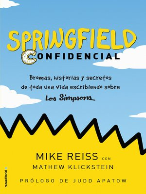cover image of Springfield Confidencial